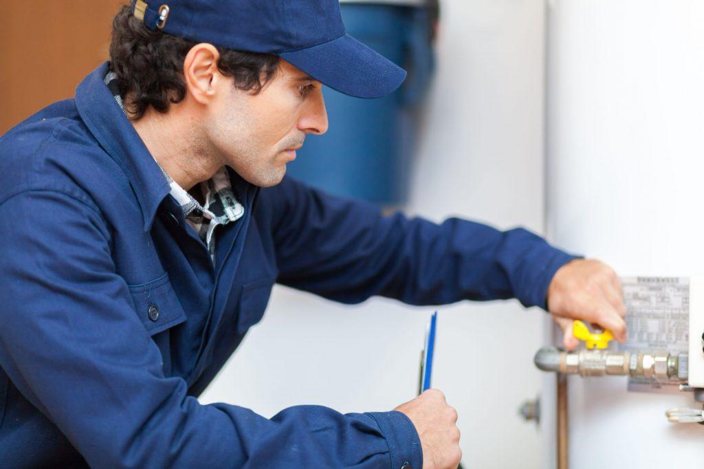 Water Heater repairman
