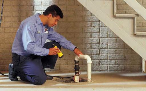 sump pump inspection